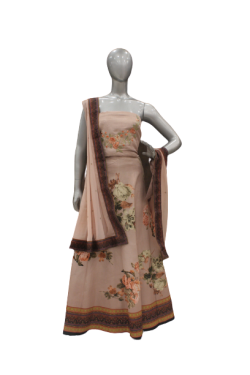CREAM COLOR DESIGNER LEHENGA