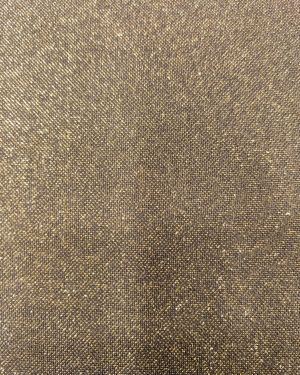 GOLD WITH BLACK LYCRA SHIMMER FABRIC